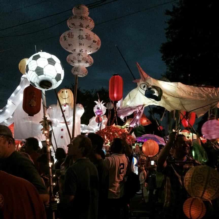 Atlanta Beltline Lantern Parade2014