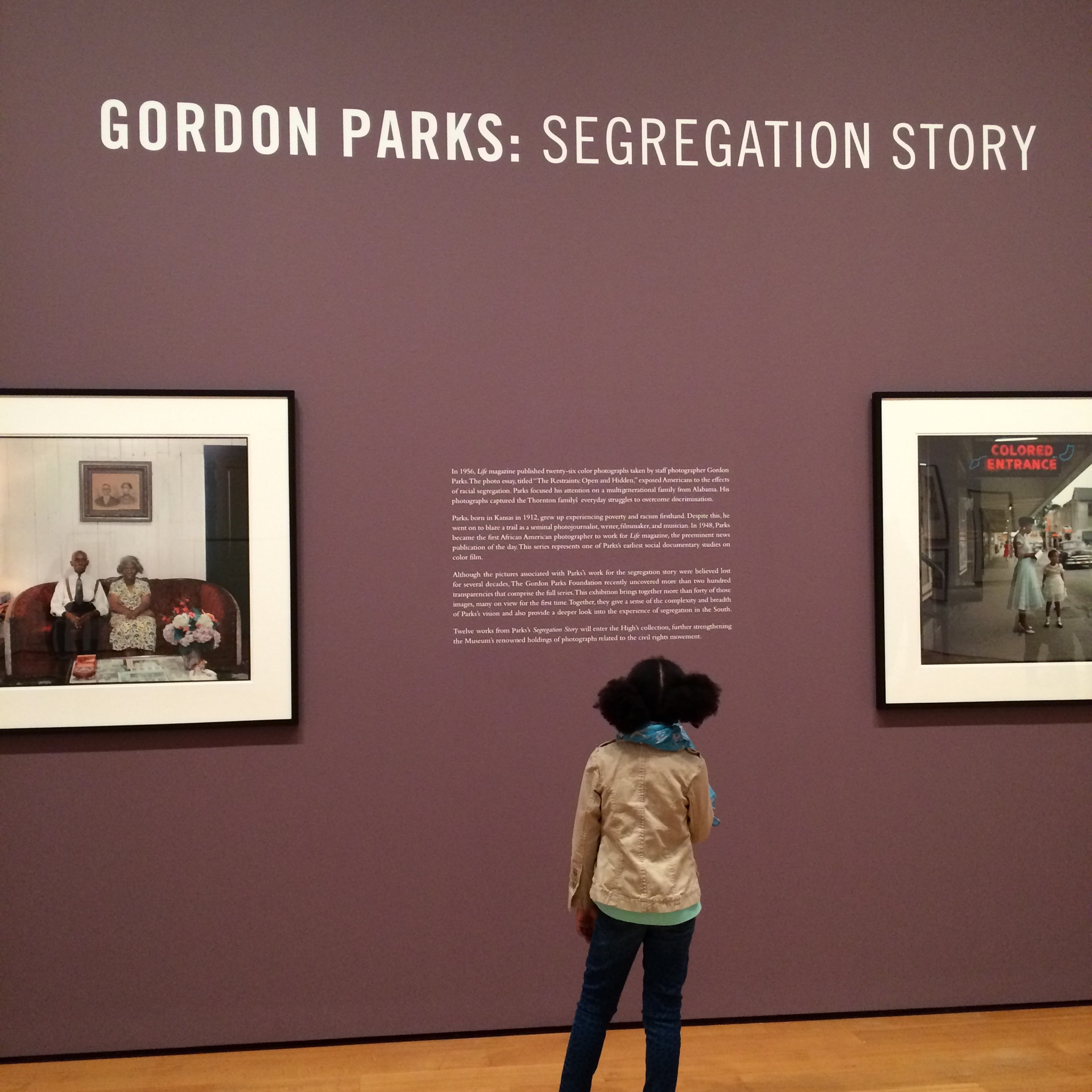 gordon parks segregation story shana was here advertisements