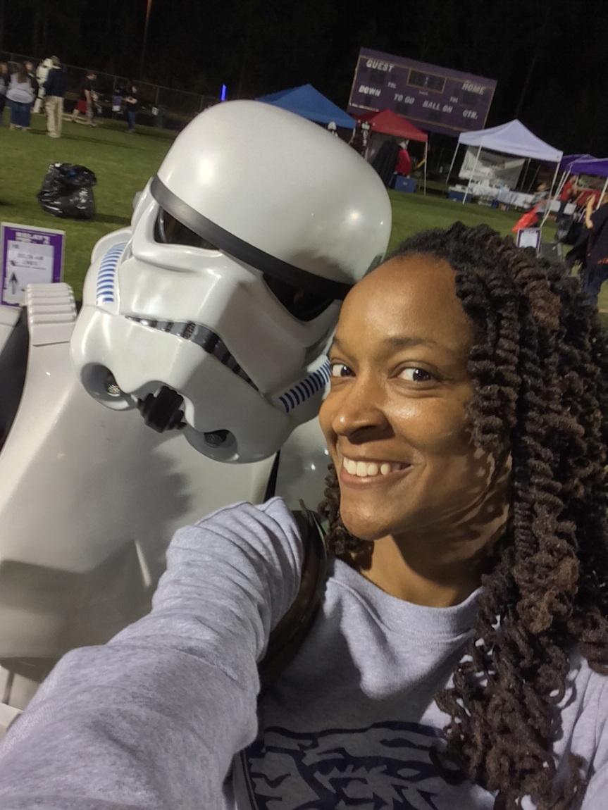 It's Star Wars Day! #MayTheFourthBeWithYou
