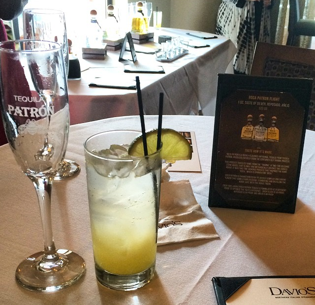 Private Happy Hour with Patrón and Davio's Northern Italian Steakhouse