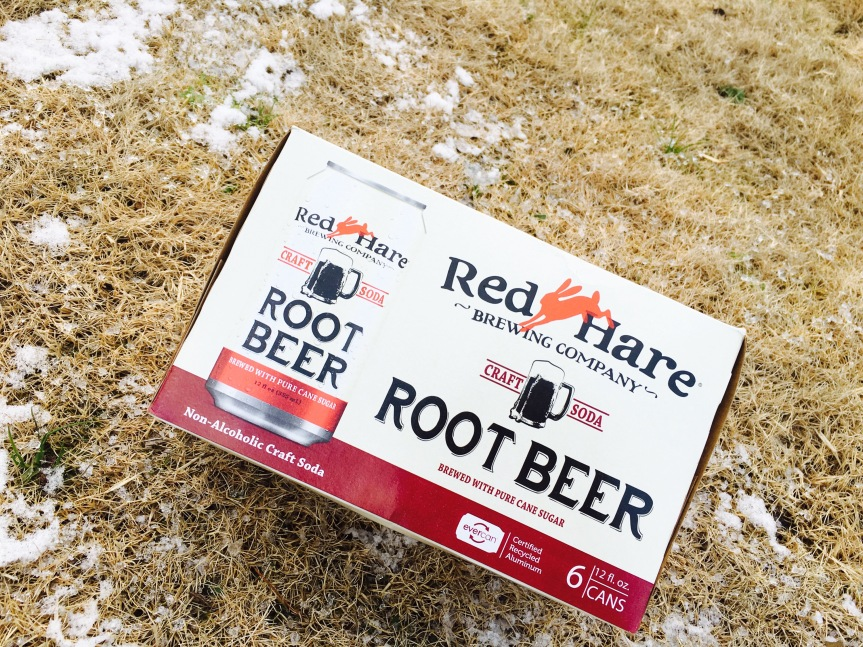 Red Hare Brewing Company Root Beer Can Launch