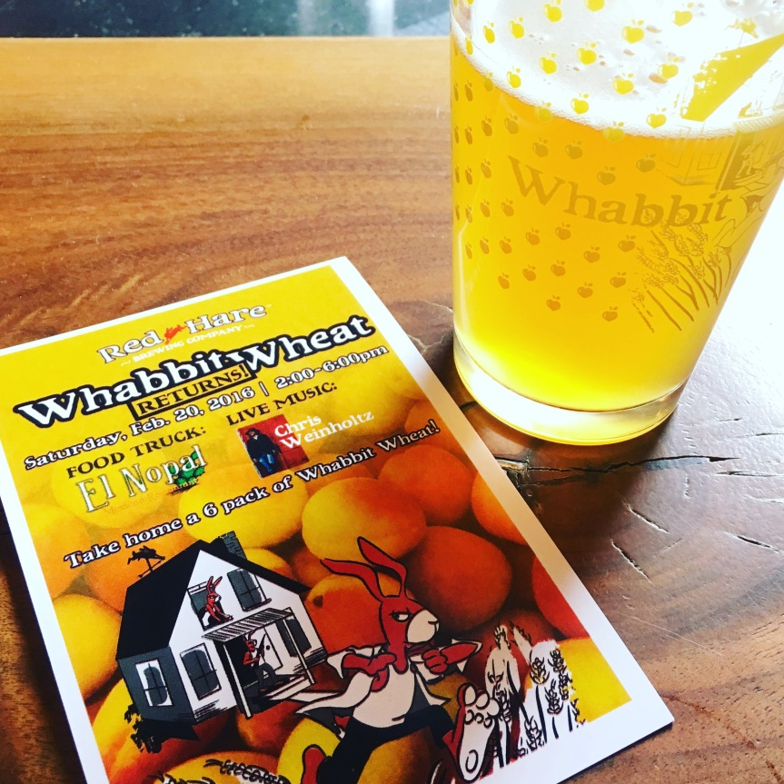Whabbit Wheat Returns! Spring Is Offically In TheAir