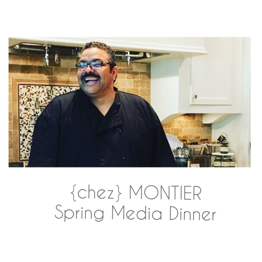 { Chez } Montier Spring Media Dinner | An Evening of CulinaryExcellence