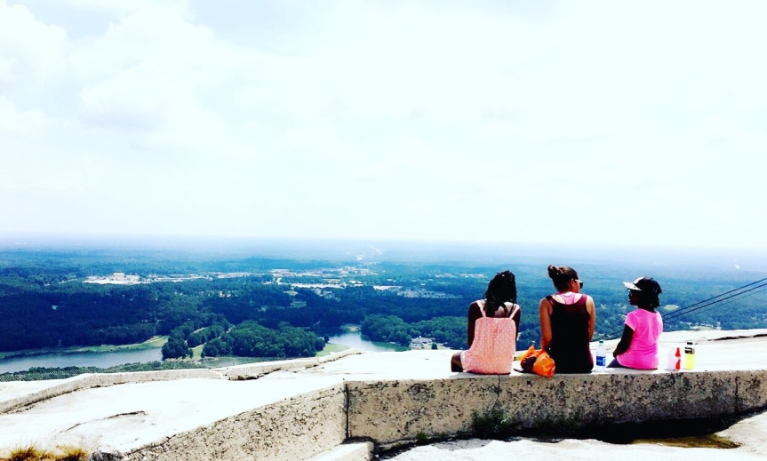 Summer Break Adventures – Climbing Stone Mountain