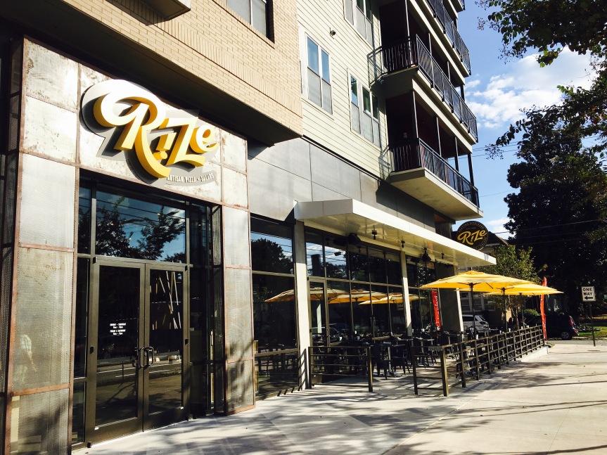 Atlanta Restaurant Preview: Rize Artisan Pizza + Salads