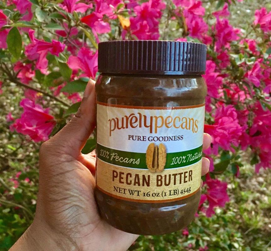 Cinnamon Pecan Rolls Featuring Purely Pecans PecanButter