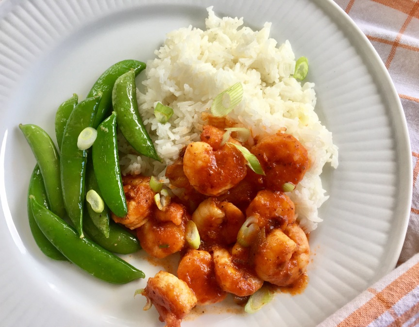 Shrimp with Tiger Sauce-Home ChefReview