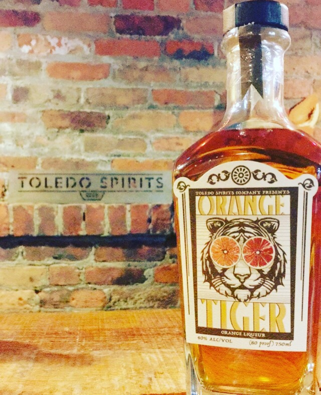 Toledo Spirits Company Orange Tiger Orange Liqueur