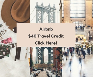 Airbnb $40 Travel Credit