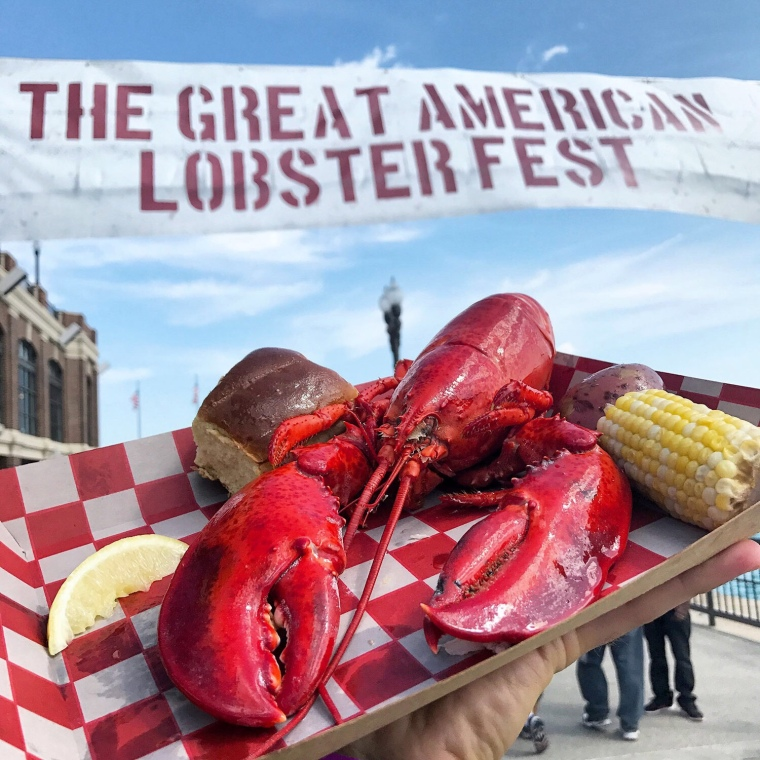 Great American Lobster Fest Detroit Food Fest Lobster