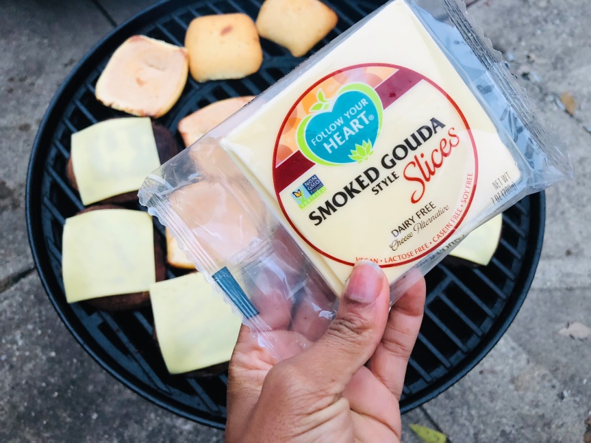 Fall Grilling with Follow Your Heart | Grilled Portobello Mushrooms w/ Vegan Smoked Gouda StyleCheese