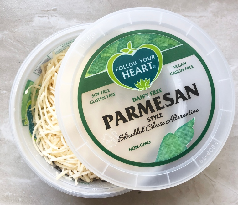 Parmesan Style Shredded Cheese Alternative Follow Your Heart