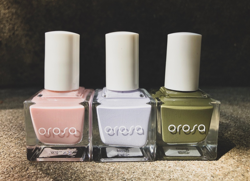 Treat Your Nail Wardrobe to 3 New Fall Shades From Orosa Pure Cover Nail Paint-Vegan, 14-Free, Cruelty-Free, All-In-One Nail Paint #PaintYourPersona