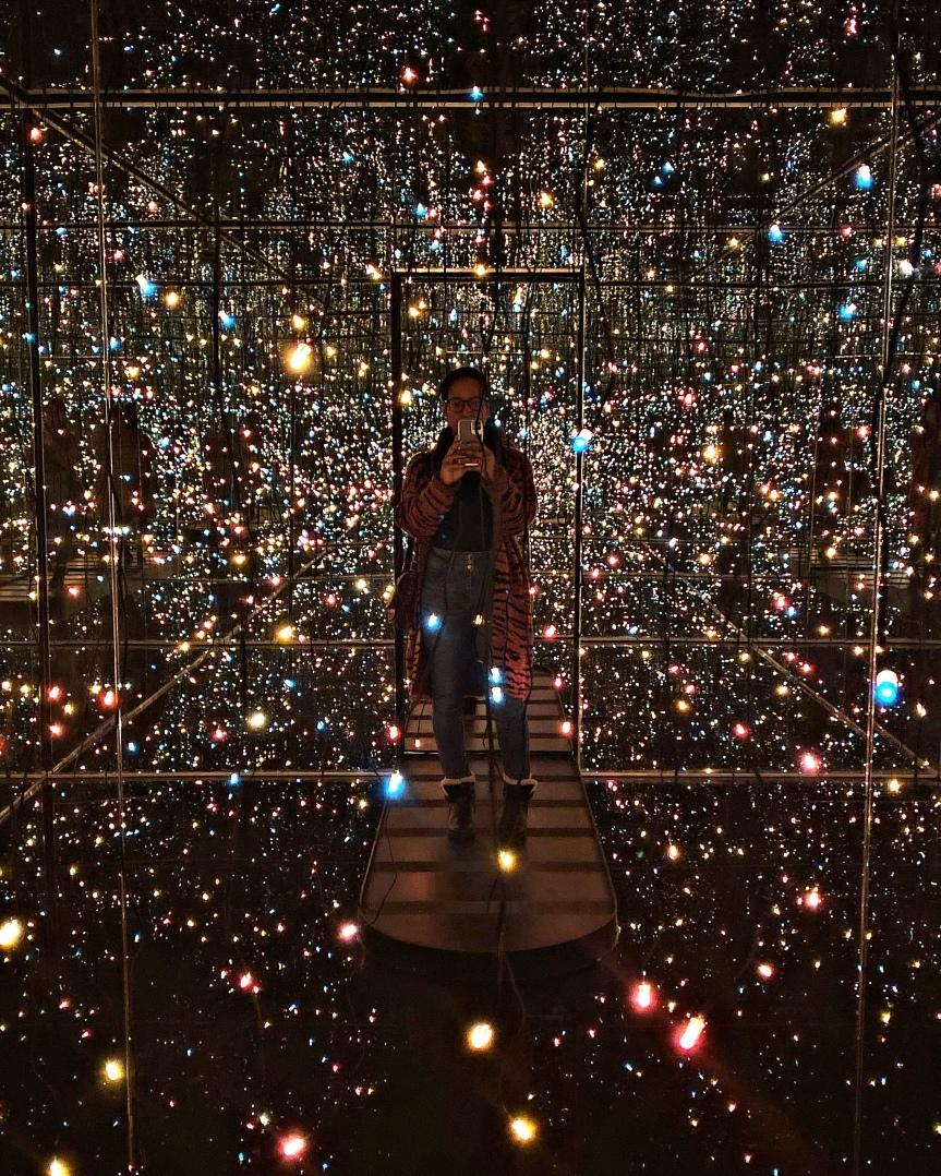 Yayoi Kusama: Fireflies on the Water now open at the Toledo Museum of Art | Toledo,Ohio