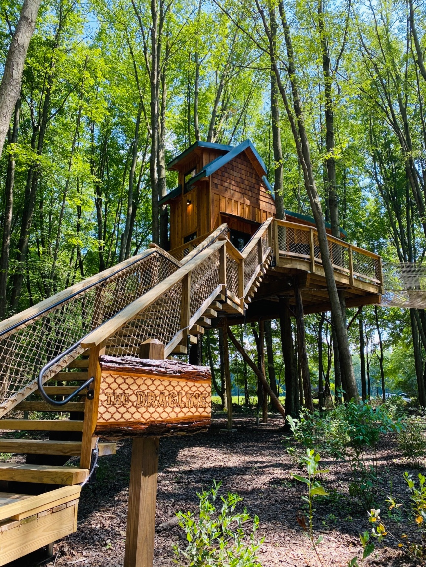 Sleep in the Trees this Summer at The Cannaley Treehouse Village Plus Tips For a Safe Road Trip Amid COVID 19 | Shana Was Here
