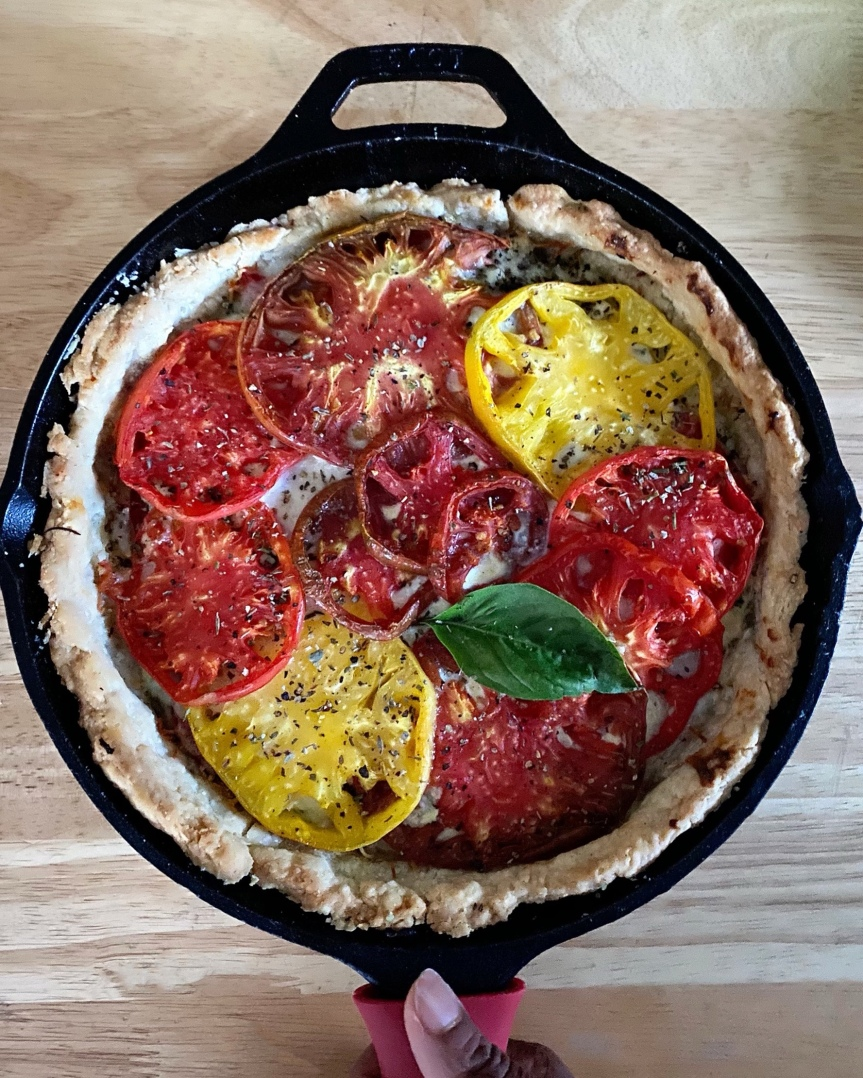 Heirloom Tomato Pie| Shana Was Here