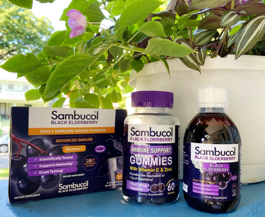 Help Support Your Immune System with Sambucol Black Elderberry Gummies